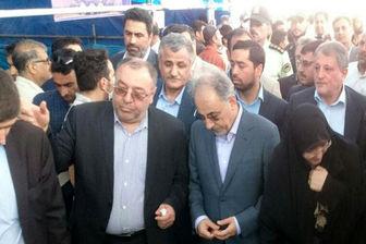 بازدید شهردار تهران از جایگاه های عرضه بهداشتی دام