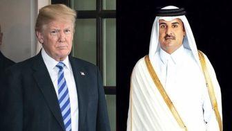 گفتوگوی تلفنی ترامپ با امیر قطر