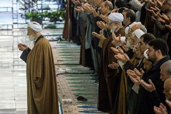 اقامه نماز عید سعید قربان به امامت آیتالله امامی کاشانی