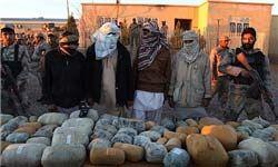 کشف ۱۴۰۰ کیلوگرم تریاک در جنوب افغانستان