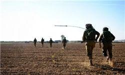 مانور غیرمنتظره نظامیان صهیونیستی در اطراف نوار غزه