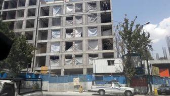 ماجرای ساختمان 5 طبقه در سعادت آباد