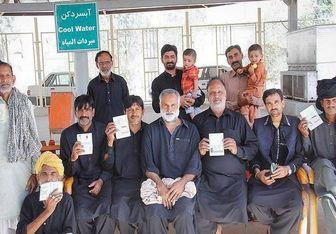 ۱۲۰ موکب در مسیر مرز مهران جانمایی شدند + عکس