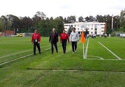 حضور کفاشیان در محل تمرین تیم ملی