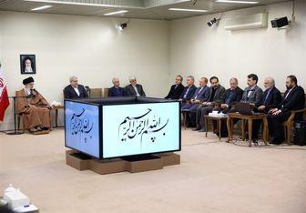دیدار جمعی از مسئولان و محققان پژوهشکده علوم شناختی با امام خامنهای