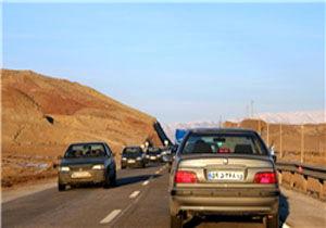 تردد خودروها در بخشی از جاده هراز ممنوع شد