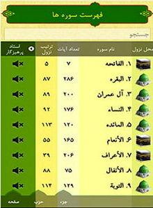 قرآن صوتی حبل المتین + دانلود نرم افزار
