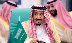 شاه سعودی عزادار شد+ عکس