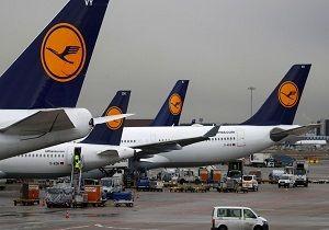 توفان، پروازهای فرودگاه فرانکفورت را لغو کرد