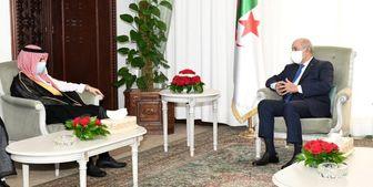 دیدار وزیر خارجه سعودی با رئیس جمهور الجزائر