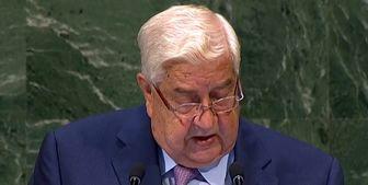 سفر وزیر خارجه سوریه به «مسقط»