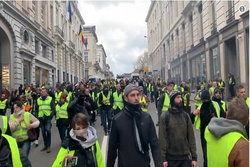 نهمین شنبه تظاهرات جلیقه زردها در فرانسه