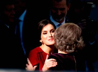 رابطه ملکه اسپانیا با مادرشوهرش صمیمی شد!