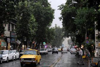 بارش شدید باران در برخی استان های کشور