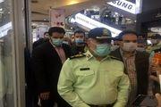 اعمال قانون ۶ هزار خودرو که راننده یا سرنشینان آن ماسک نزده بودند