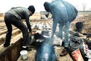 سکوت ۱۰۰۰ گورخواب سیستانی در خانه اموات +عکس