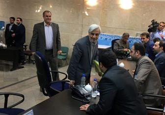 هاشمیطبا در انتخابات ریاست جمهوری ثبتنام کرد
