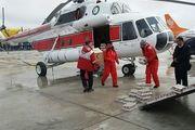 امدادرسانی نیروهای هلال احمر در برف و کولاک در برخی از مناطق کشور