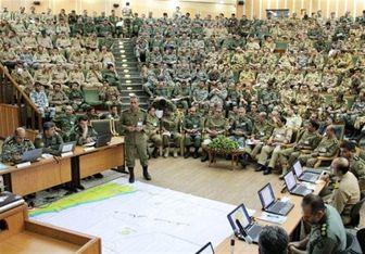آغاز دوره آشنایی با منطقه رزم دانشجویان دافوس ارتش