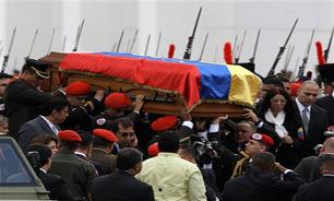 مراسم تدفین چاوز برگزار شد