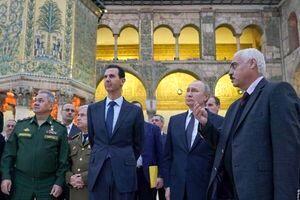 تمجید پوتین از مسلمانان در سفر مخفی به سوریه