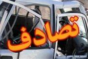 سقوط پژو پارس از روی پل در اتوبان تهران-کرج+ عکس