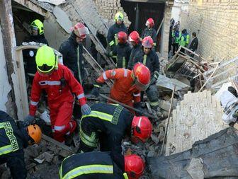 ۳ کشته در انفجار مرگبار منزل مسکونی در بلوار بهمن مشهد+ تصاویر