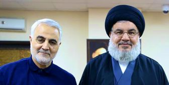 تصاویر جدید از آخرین دیدار شهید سلیمانی با سید حسن نصرالله
