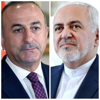 گفتوگوی تلفنی ظریف و وزیر خارجه ترکیه درباره معامله قرن