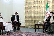 جزئیات دیدار رئیسی با وزیر خارجه قطر