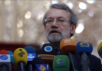لاریجانی: برخی رهبران اروپایی اعلام کردند به برجام پایبند می مانند