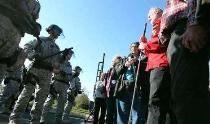 معترضان به برنامه اتمی آمریکا دستگیر شدند