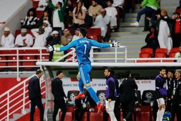 پیروزی ملی پوشان ایران در مقابل عمان/ گزارش تصویری