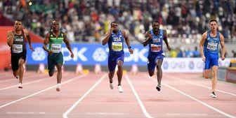قهرمان دوی 100 متر مشخص شد