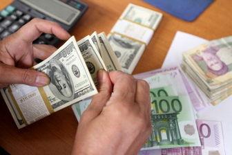 نرخ دلار یورو امروز