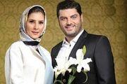 موتورسواری سام درخشانی و همسرش در خیابانهای تهران/فیلم