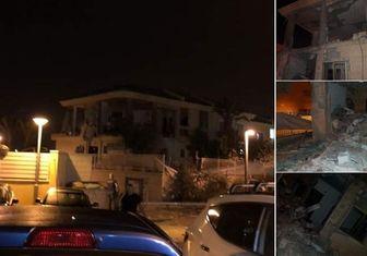 اصابت راکت شلیک شده از غزه به بئر السبع در سرزمینهای اشغالی