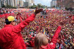 تجمع گسترده حامیان «مادورو»
