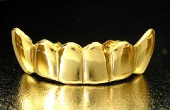 استفاده از روکش طلا براى دندان، در مردان جایز است؟