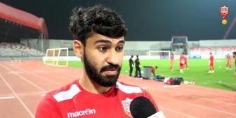 مدافع سابق بحرین: ما ایران را با علی دایی شکست دادیم