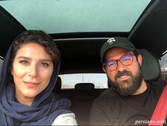 تبریک هومن سیدی به سحر دولتشاهی /عکس