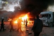 حمله هوایی به گروههای تروریستی در مرز سوریه با ترکیه