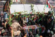 تشییع باشکوه پیکر شهید مدافع حرم علی سیفی/ گزارش تصویری