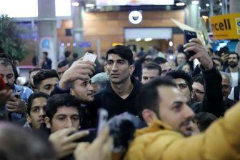 کار ارزشمند بیرانوند در بدو ورود به تهران+عکس