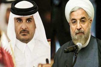 امیر قطر عید قربان را به روحانی تبریک گفت