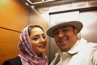 سالگرد ازدواج نرگس محمدی و علی اوجی/ عکس