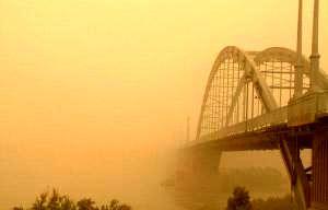 تداوم وزش باد و گرد و خاک در خوزستان