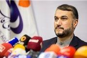 واکنش امیرعبداللهیان به آتش کشیدن سرکنسولگری ایران در بصره