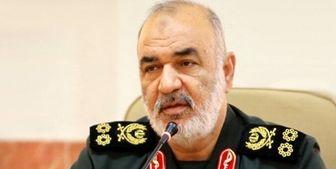 پیام تبریک فرمانده کل سپاه به سردار اشتری