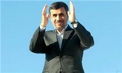 احمدی نژاد وارد اکرا پایتخت غنا شد